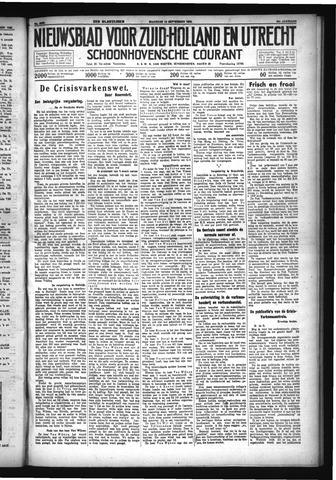 Schoonhovensche Courant 1932-09-12