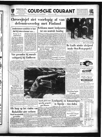 Goudsche Courant 1961-11-27