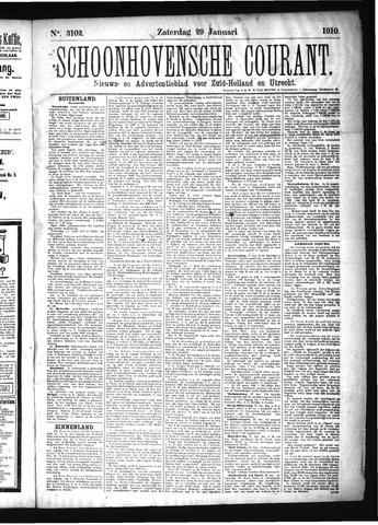 Schoonhovensche Courant 1910-01-29