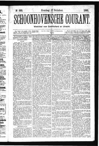 Schoonhovensche Courant 1880-10-17