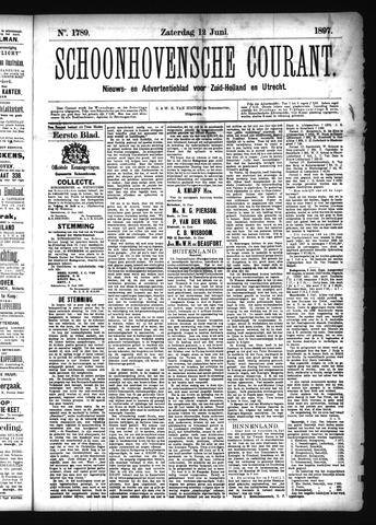 Schoonhovensche Courant 1897-06-12