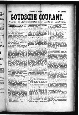 Goudsche Courant 1883-10-03