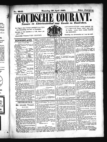 Goudsche Courant 1895-04-29