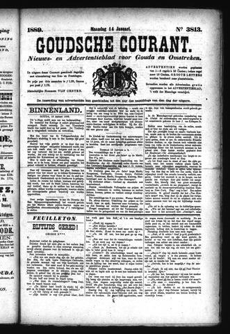 Goudsche Courant 1889-01-14