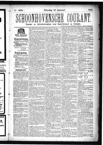 Schoonhovensche Courant 1915-01-12