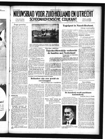 Schoonhovensche Courant 1950-03-08