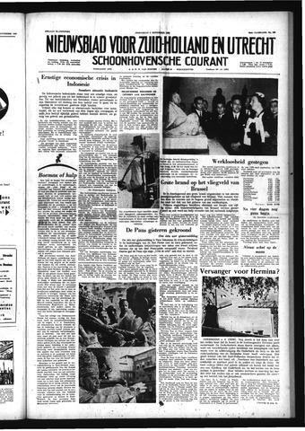 Schoonhovensche Courant 1958-11-05