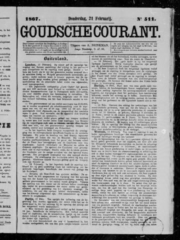 Goudsche Courant 1867-02-21