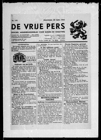 De Vrije Pers 1945-06-25