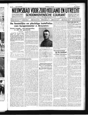 Schoonhovensche Courant 1939-07-05