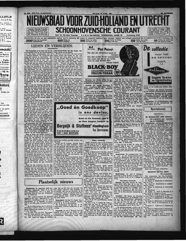 Schoonhovensche Courant 1935-04-19
