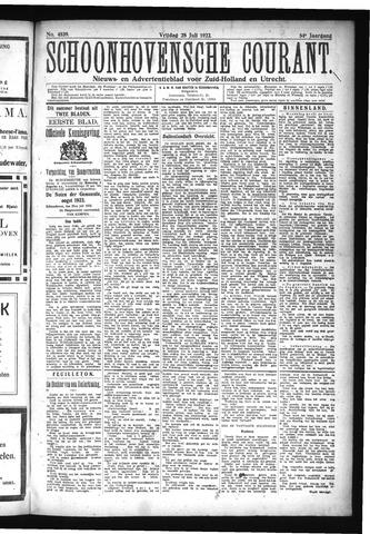 Schoonhovensche Courant 1922-07-28