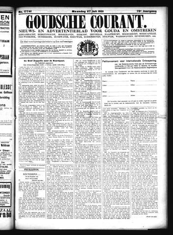 Goudsche Courant 1931-07-27