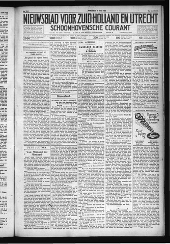 Schoonhovensche Courant 1930-06-18