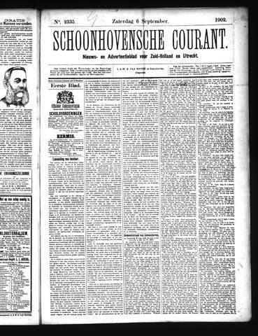 Schoonhovensche Courant 1902-09-06