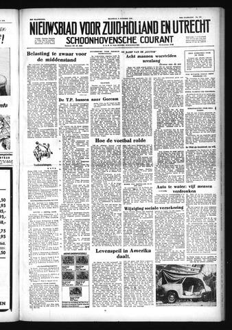 Schoonhovensche Courant 1952-10-06