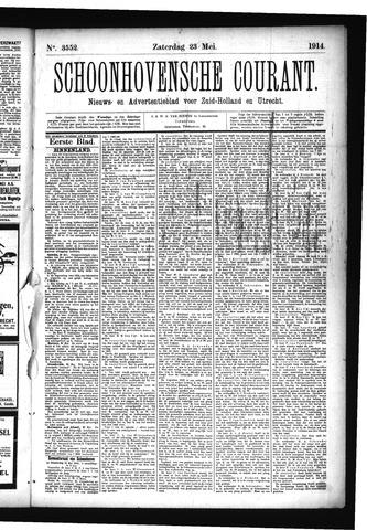 Schoonhovensche Courant 1914-05-23