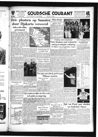 Goudsche Courant 1958-03-11