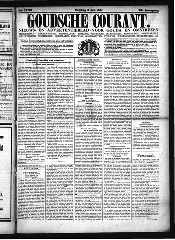 Goudsche Courant 1931-07-03