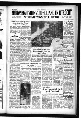 Schoonhovensche Courant 1954-12-15