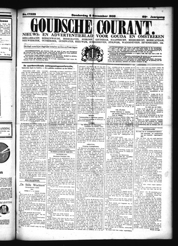 Goudsche Courant 1930-11-06