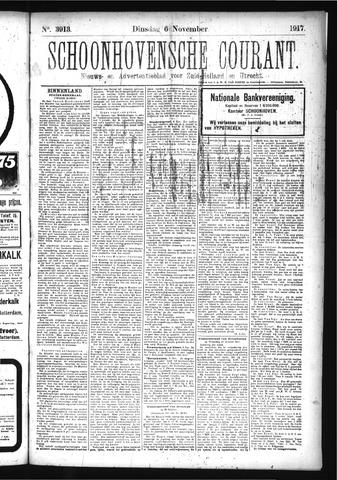 Schoonhovensche Courant 1917-11-06