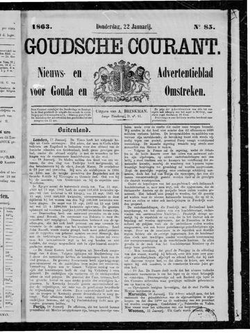 Goudsche Courant 1863-01-22