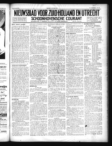 Schoonhovensche Courant 1946-10-18