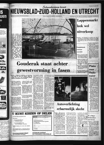 Schoonhovensche Courant 1973-11-12