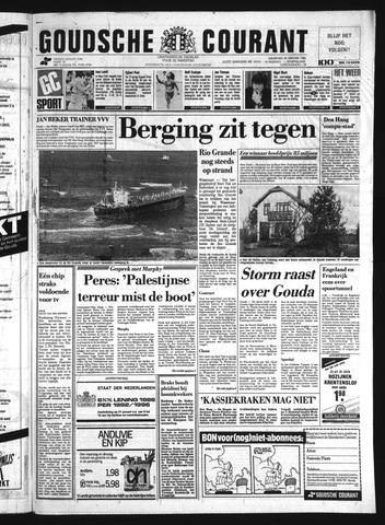 Goudsche Courant 1986-01-20