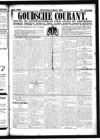 Goudsche Courant 1929-03-14