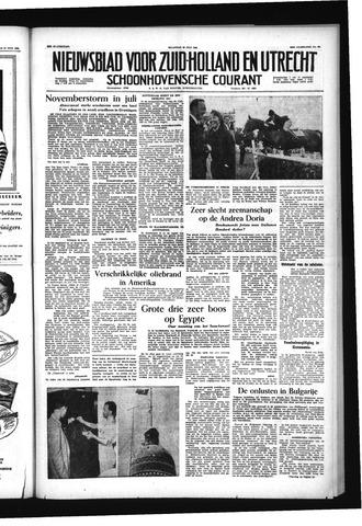 Schoonhovensche Courant 1956-07-30