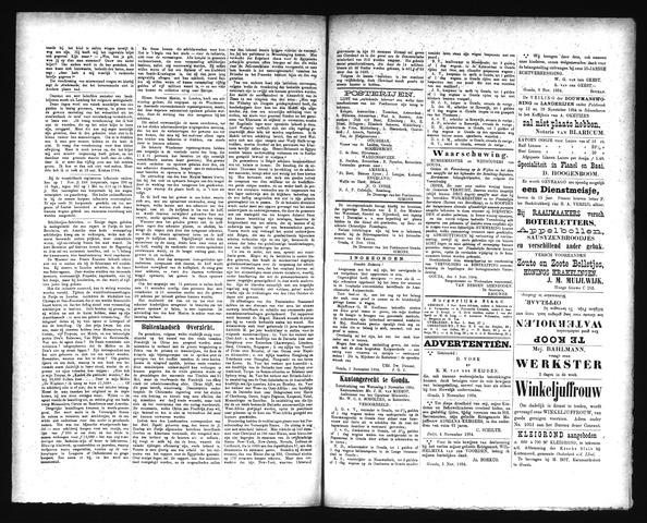 Goudsche Courant 1884-11-09