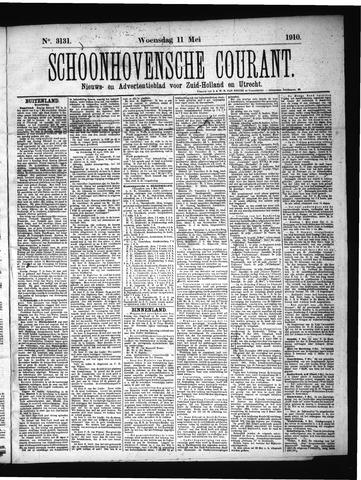 Schoonhovensche Courant 1910-05-11