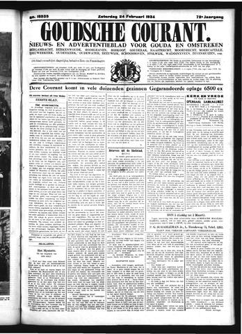 Goudsche Courant 1934-02-24