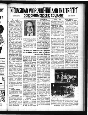 Schoonhovensche Courant 1949-03-25