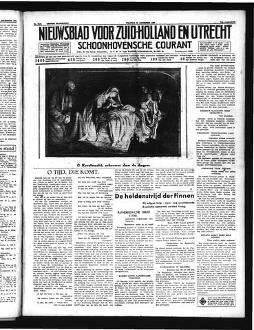 Schoonhovensche Courant 1939-12-22