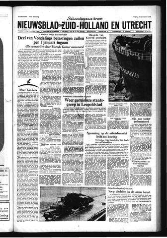 Schoonhovensche Courant 1965-11-26