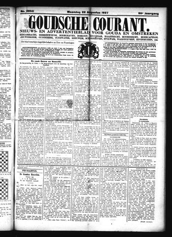 Goudsche Courant 1927-08-22