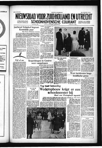 Schoonhovensche Courant 1955-11-09