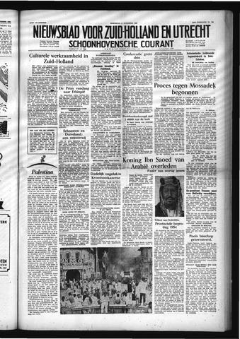 Schoonhovensche Courant 1953-11-11