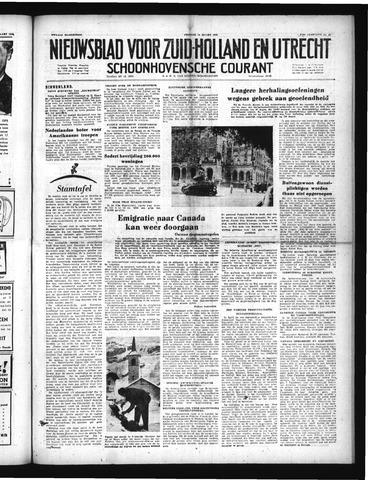 Schoonhovensche Courant 1952-03-14