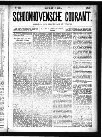 Schoonhovensche Courant 1876-05-07