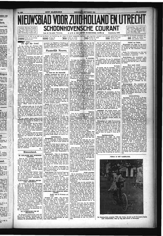 Schoonhovensche Courant 1932-09-07