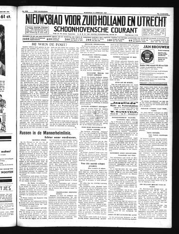 Schoonhovensche Courant 1940-02-14
