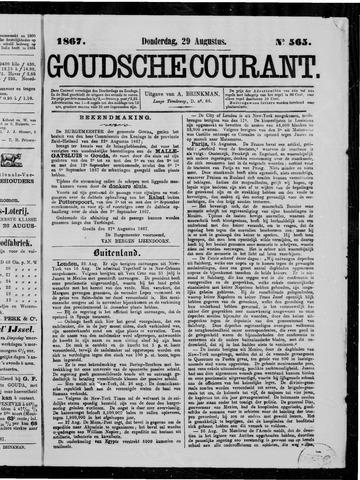 Goudsche Courant 1867-08-29