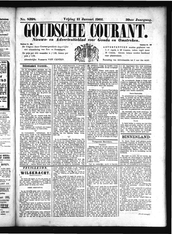 Goudsche Courant 1901-01-11