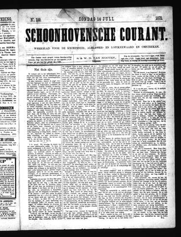 Schoonhovensche Courant 1872-07-14