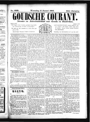 Goudsche Courant 1905-01-11