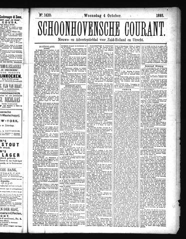 Schoonhovensche Courant 1893-10-04